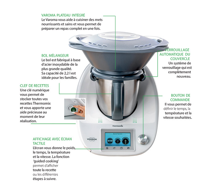 Avantages Thermomix